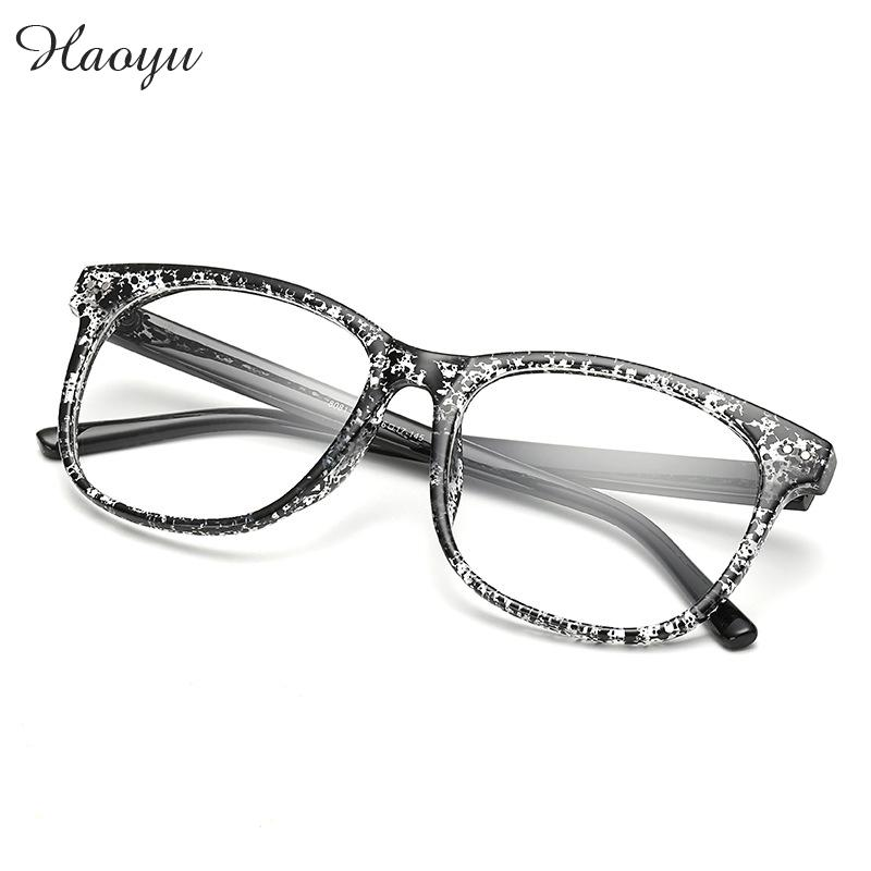 haoyu New Fashion Vintage Eyeglasses Women Men Computer EyeGlasses Optical Frame Brand Oculos De Grau Femininos Masculino