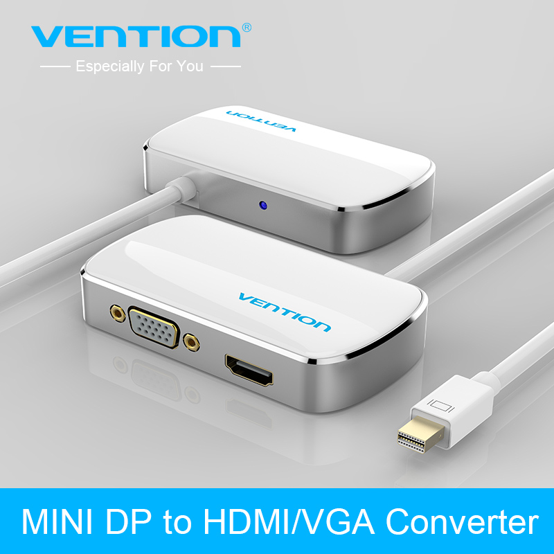 Mukavele 2 in 1 Mini Displayport DP HDMI VGA Adaptörü Conventer Kablosu Apple Macbook Air Pro iMac Mac HDTV projektör için
