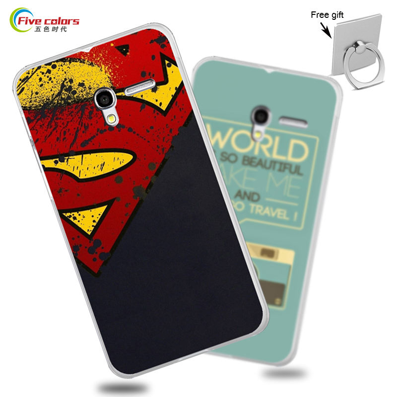 Cartoon Cover For Alcatel Pop 3 5.0 inch Case 5015X 5015D Hard Case For Alcatel Pop 3 5.0 inch Fundas UV Print Phone Bag