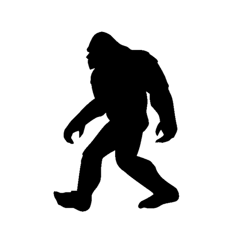 Bigfoot Sasquatch Yeti Vinil Decal Sticker Araba SUV Kamyon Tekne Pencere Tampon Ev Wall Için